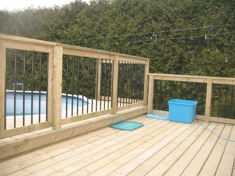Deck 3 collection classique concept patios design for Deck piscine bois