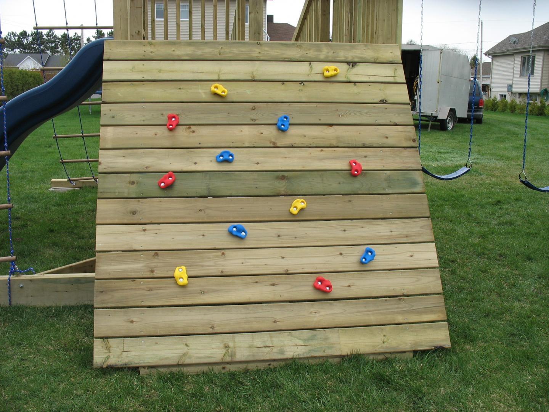 Module de jeux 1 collection prestige concept patios design - Mur escalade enfant ...